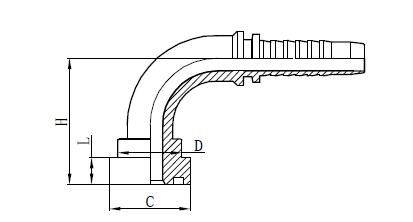 Montage der Schlauchmontage 4SH