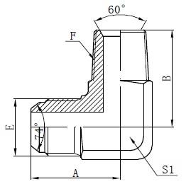 BSPT-Steckeradapteranschlüsse