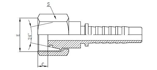 Ersatzteile für die hydraulische Montage