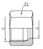 Zeichnung der hydraulischen Haltemuttern