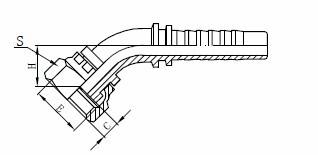R1AT-Hydraulikschlauchbaugruppe