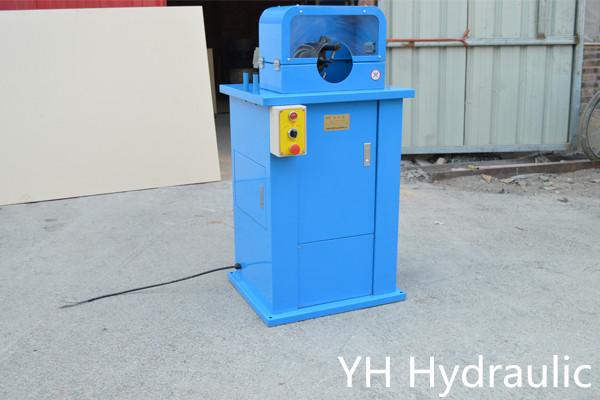 hydraulische Schlauchschälmaschine